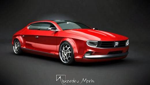 Super concept Dacia 1300 - 2014 Alexandru Maris