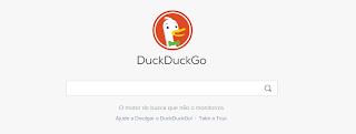 Não ser monitorizado na Internet com DuckDuckGo