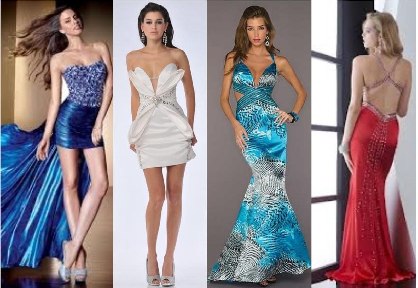 Vestidos de fiesta sensuales las mejores ideas para que for Colores sensuales