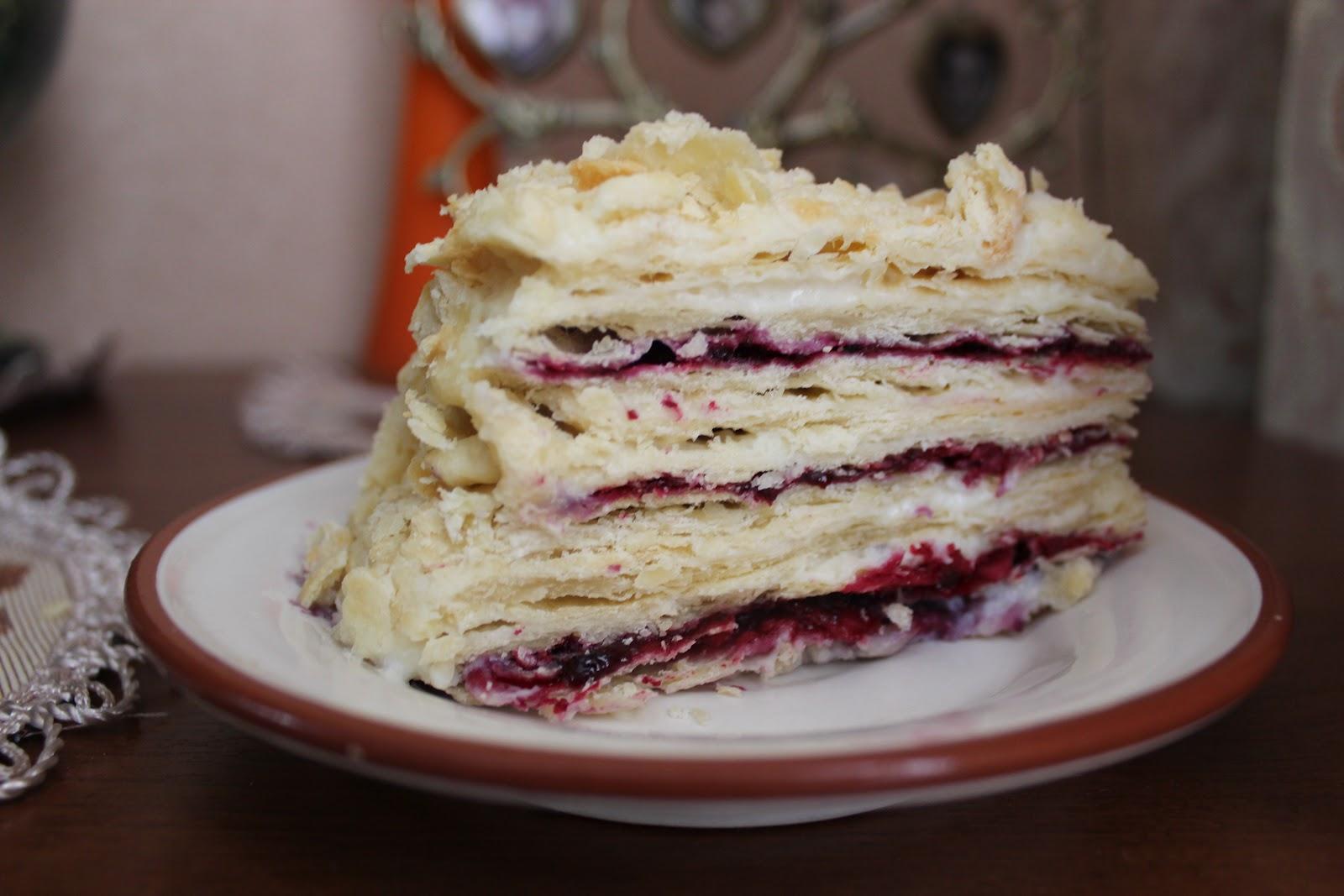 Торт на варенье смородиновое