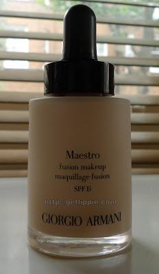 Giorgio Armani Maestro Fusion Makeup Review