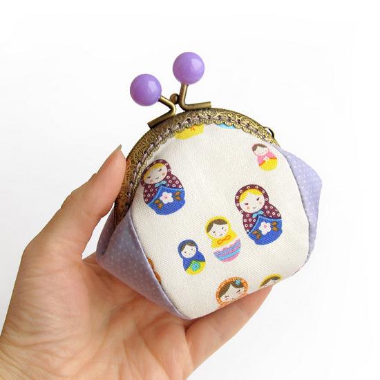 Matryoshka purse, кошелек с матрешками