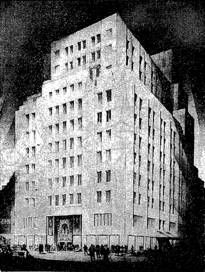 Bonwit Teller Building In New York City