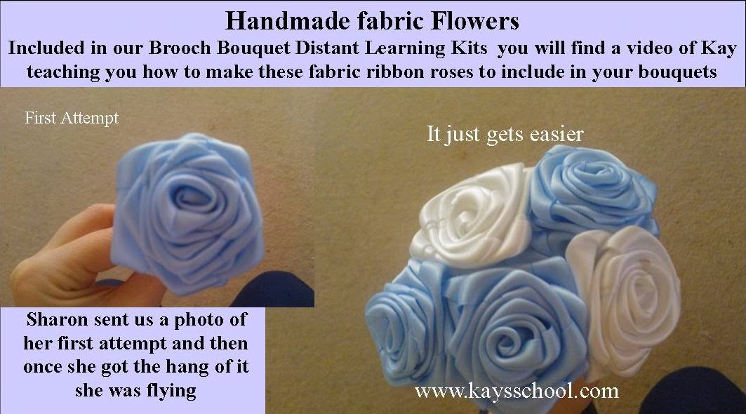 Kay\'s Flower School & Brooch Bouquet Training : Make your own ...