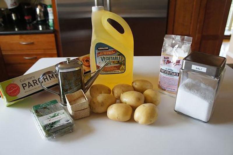 Receta de chips translúcidos