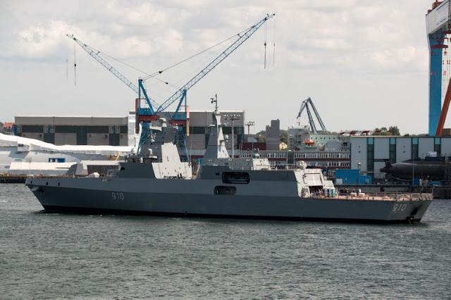 MEKO A-200 AN frigate for Algeria