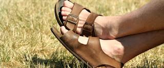 Homem de sandália Birkenstock