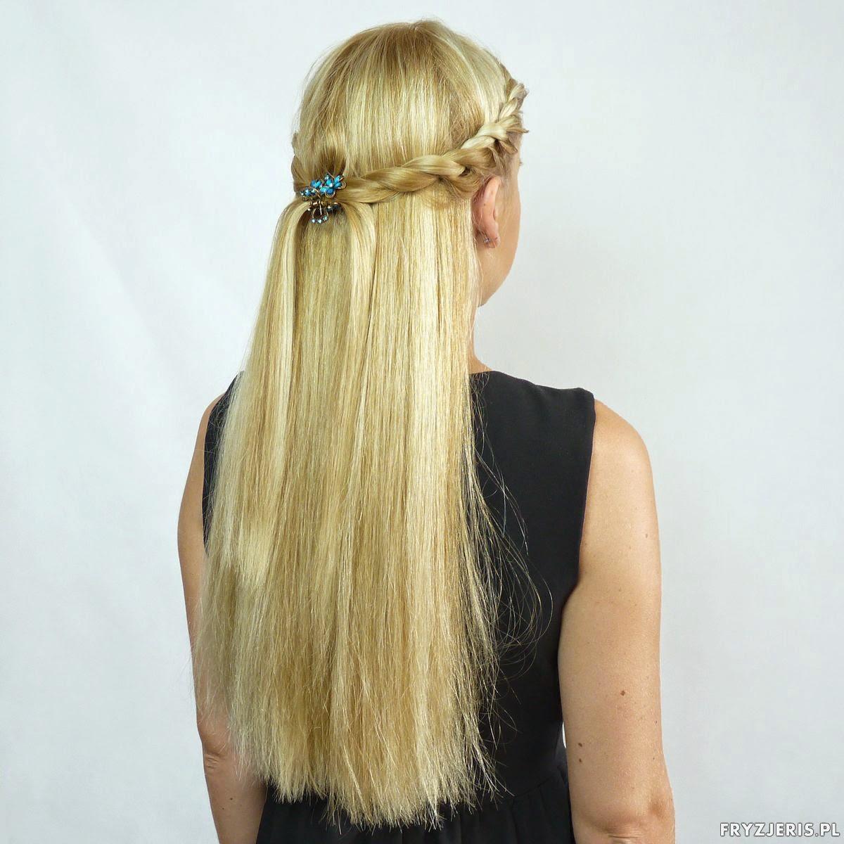 fryzury na lato - splot