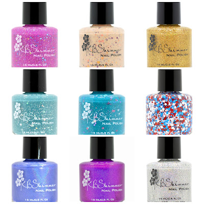 KBShimmer 2015 Summer Collection Part 2