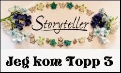 Jeg ble top 3 hos Storyteller