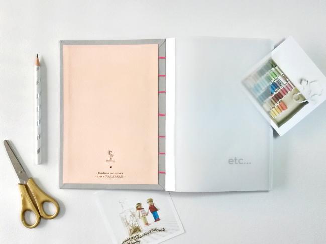 Cuaderno - Interior en papel vegetal - Proyecto Filigrana