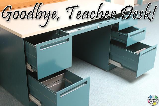 Teacher Tuesday ting rid of my teacher desk
