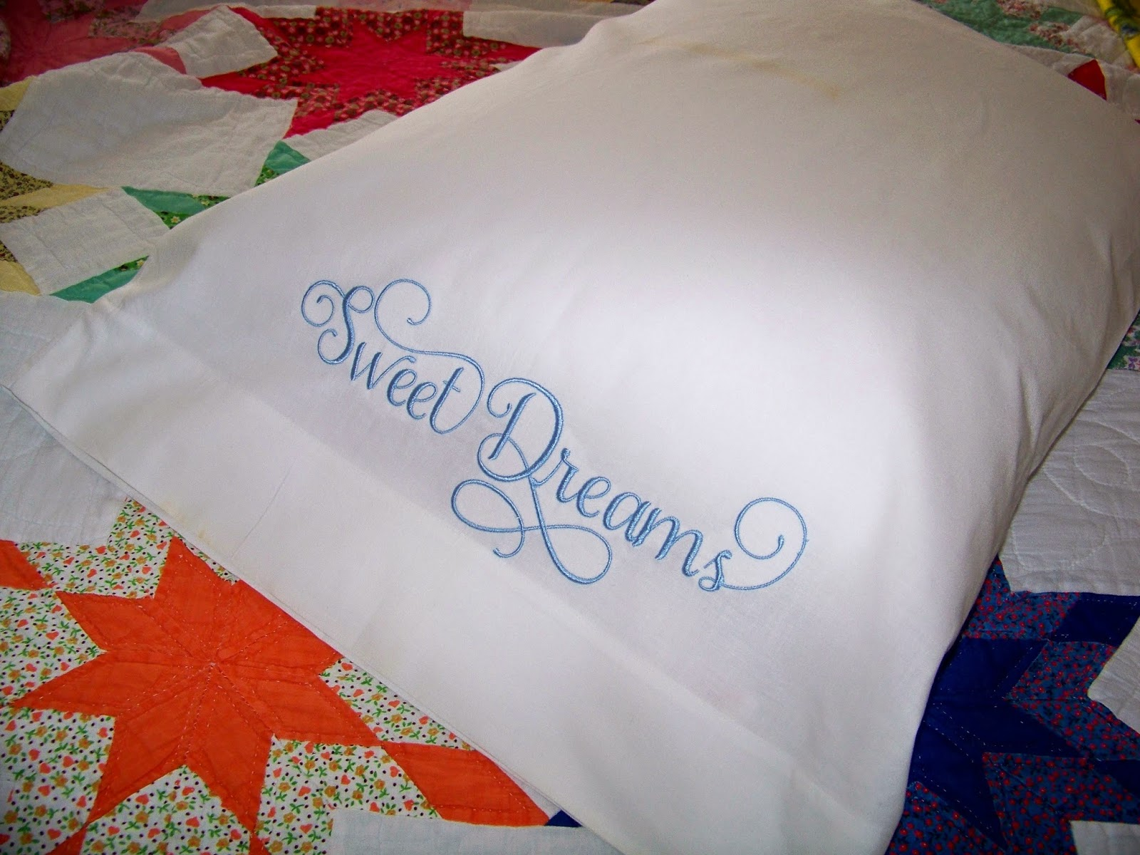 Happy With My Practice Pillow, I Am Ready To Embroider The