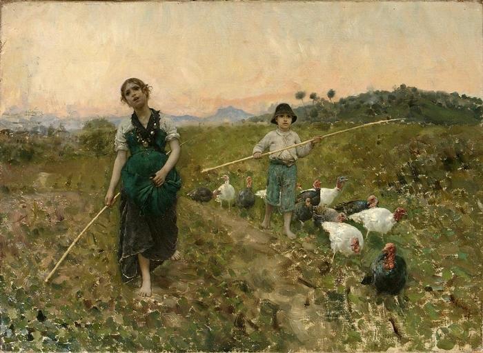 Il Verismo e la pittura degli umili   Il Movimento pittorico dell'800 italiano