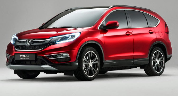 "2015 Honda CR-V Was Named #1 In ""2015 Best Cars For Families"""