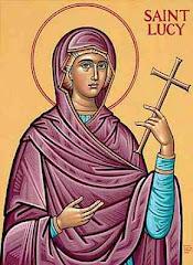 Sf.Mc.Lucia Ocrotitoarea fetitei noastre