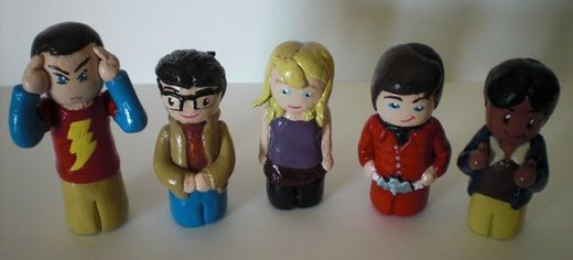 The Big Bang Theory Gang por Ingalain