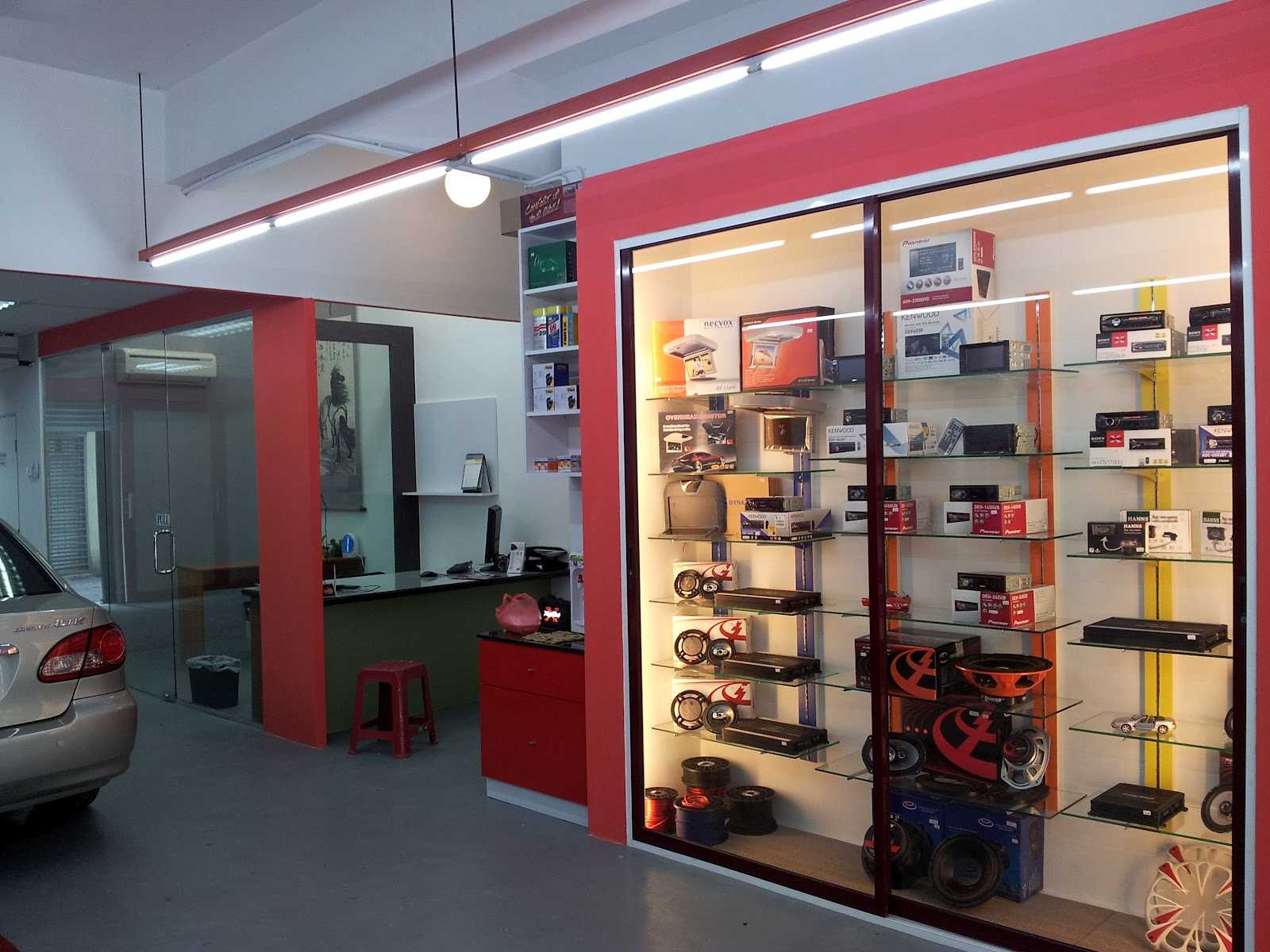 New Opening Auto Accessories Concept Store in Ara Damansara ...