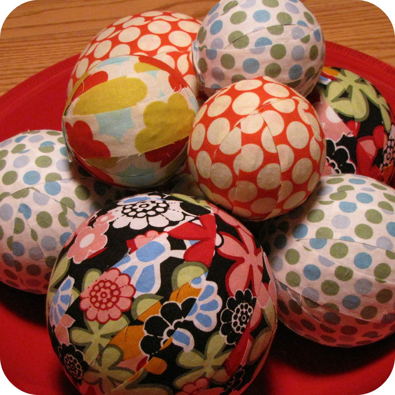 The terpblog craft night fabric balls for Crafts with styrofoam balls for kids