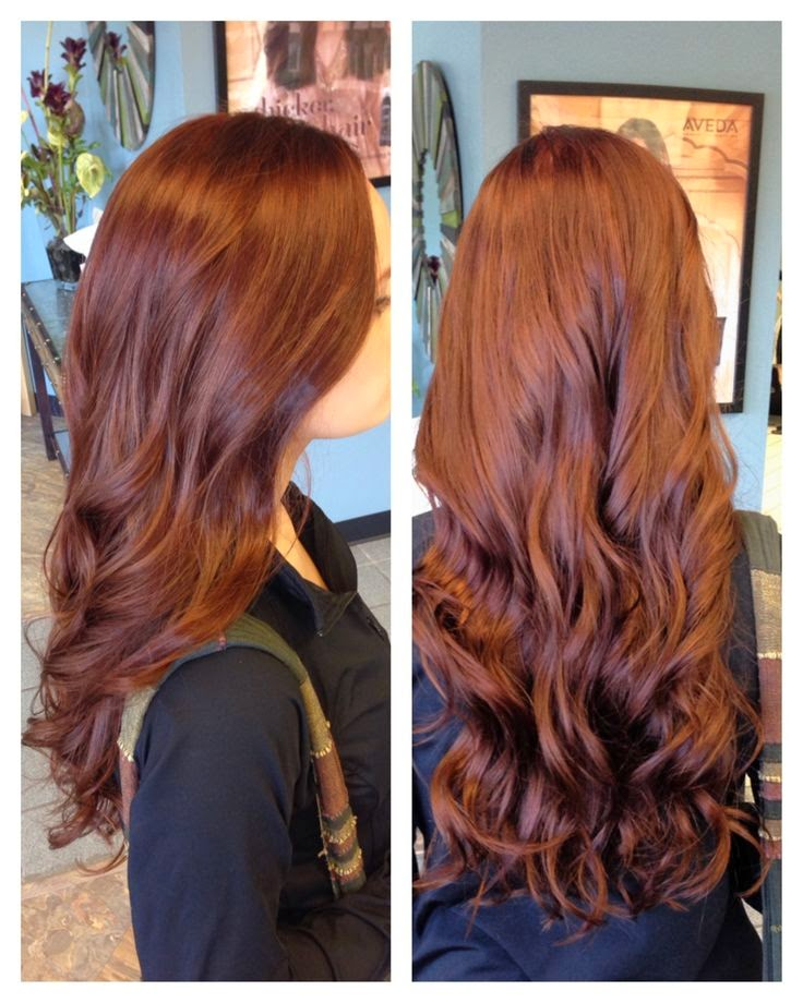 hair colors brown red-#22