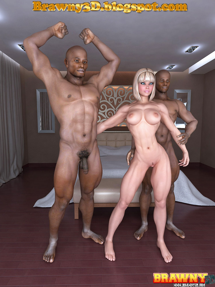 Blonde models fucking