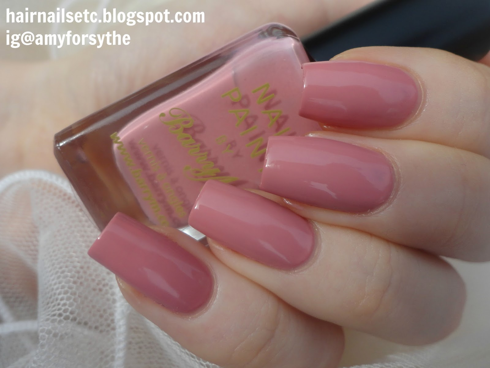 Barry M Classic Nail Paint Ballerina Swatch and Review