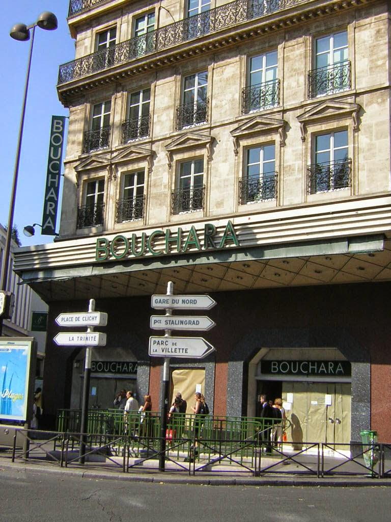 Octobre 2008 la parisienne du nord - Magasin bouchara paris ...
