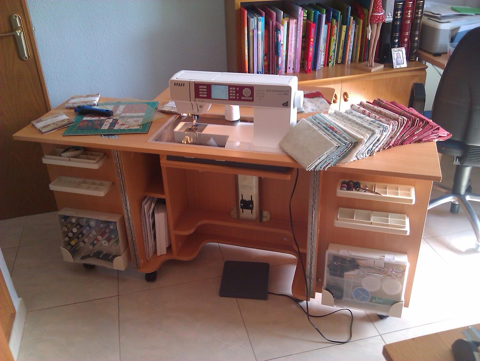 Muebles Para Maquinas De Coser Refrey Mueble Y Pie Para Maquina  # Muebles Maquina De Coser Segunda Mano