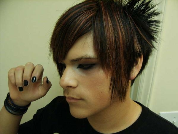 Funky Hairstyles Emo Short Hairstyle