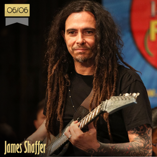 6 de junio | James Shaffer - @JC_SHAFFER | Info + vídeos