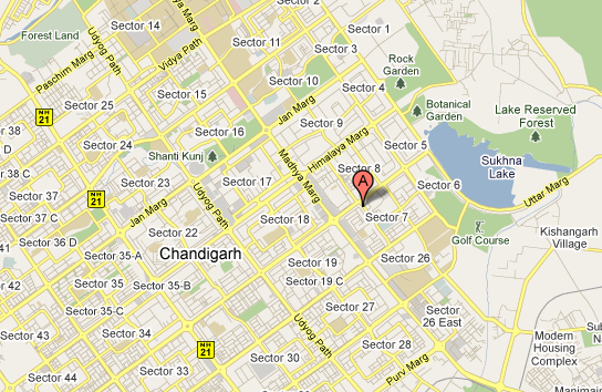 Dental Clinic Sector 7 Chandigarh Location