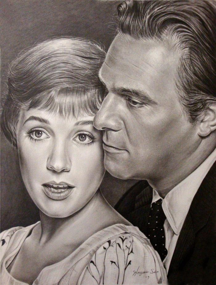 Julie Andrews with Christopher Plummer  - Michelle Seo Hongmin