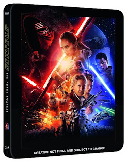 Star Wars VII; el Despertar de la Fuerza en blue-ray