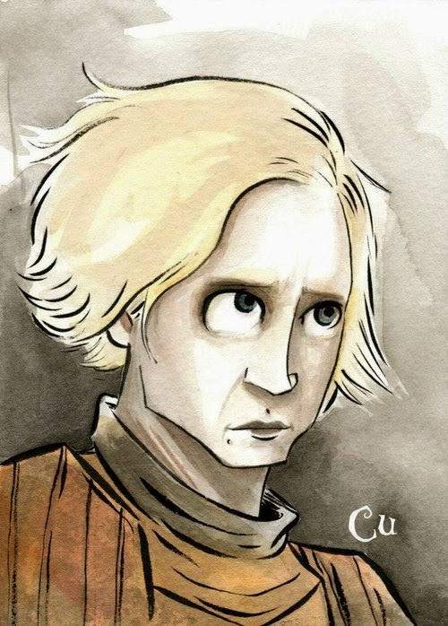 08-Game-of-Thrones-Brienne-of-Tarth-Chris-Uminga-Game-of-Thrones-Watercolours-www-designstack-co