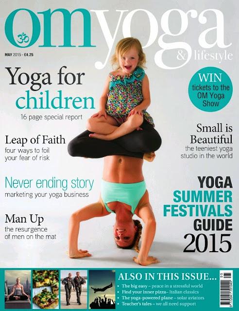 Hip Opening Poses - Om Yoga Magazine May