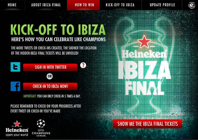 Countdown To Heineken Ibiza Final