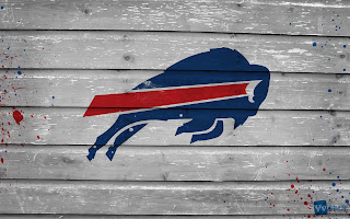 Buffalo Bills NFL Logo on Wood Texture HD Wallpaper