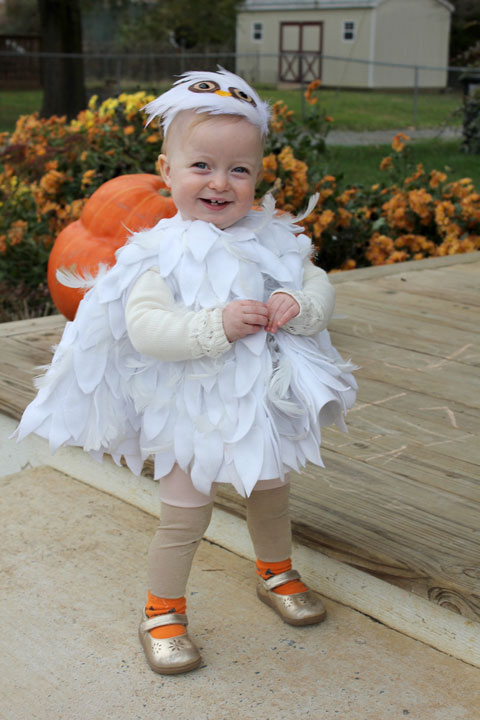 Crozette 2015 after looking at many many baby owl and hedwig costumes on pinterest i found this one and knew it was the one her tutorial is here solutioingenieria Choice Image