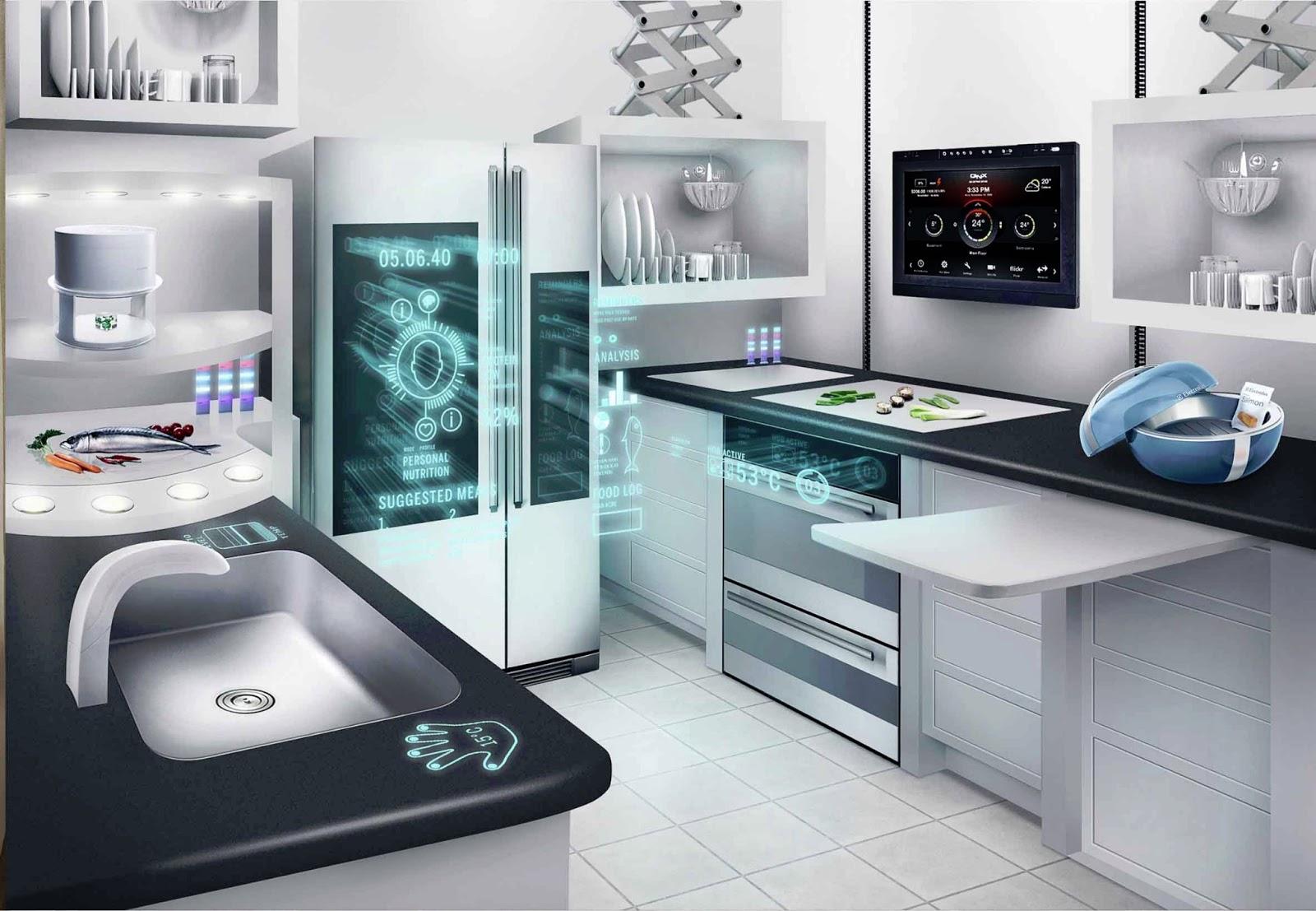 Uncategorized High Tech Kitchen Appliances network connected appliances for future kitchens