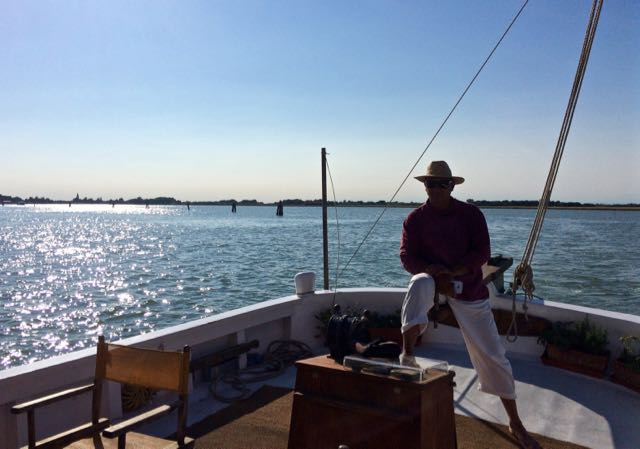 Sailing the Eolo on the Venetian Lagoon