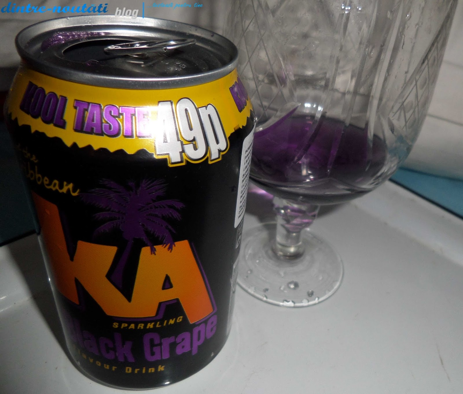 suc de de coacăze negre și struguri negrii ka