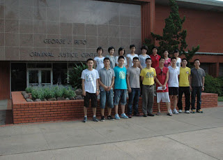Second Chinese Cohort from the Zhejiang Police College in China
