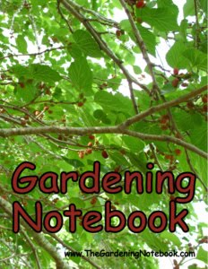 The Gardening Notebook for only $9.95