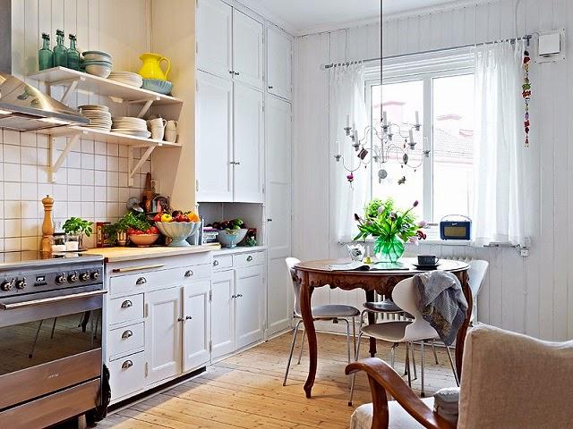 Meble do kuchni Kuchnia skandynawska