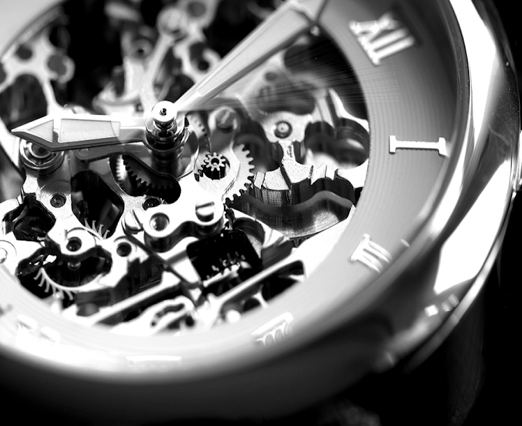 ¿Quiéres parar la saeta del reloj que te sujeta?