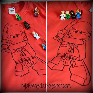 koszula, t-shitr, bluzka, dla chłopca, dziecięca, chłopieca, dla dziewczynki, dziewczęca, lego Ninjago, Kai, czerwona, bohater bajki, bohaterzy bajek, ręcznie malowana, prezent, gadżet, wyjątkowa, jedyna, rysunek, kolorowanka Ninjago, ninja, miecz, bajka, zabawa, film Ninjago, shirt , t - shitr , blouse, for a boy , children , boy, for a girl , girls , Lego Ninjago Kai , red , hero tales , heroes of fairy tales , hand- painted, gift , gadget, special , unique , drawing, coloring Ninjago , ninjas , sword, story , fun, movie Ninjago