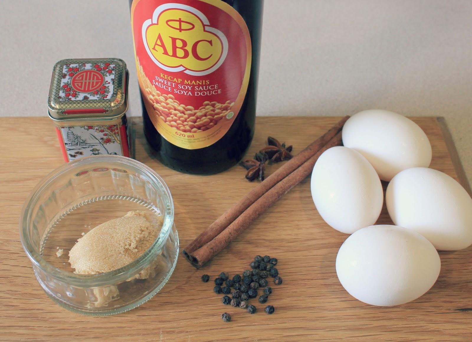 Marie's Pastiche: Recipe: Chinese Tea Eggs