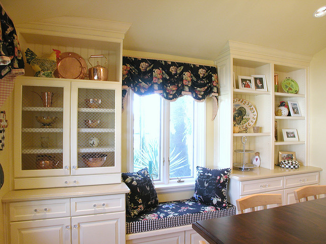 Decorating diva tips ideas for a country kitchen color scheme - French country kitchen valances ...