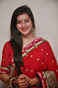Priyal Gor Dazzling in Red Saree-thumbnail-8