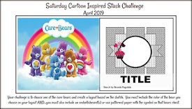 April 2019 Saturday Cartoon Inspired Stash Challenge